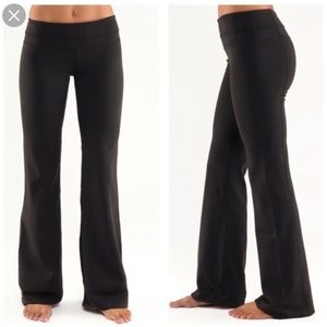 Lululemon Pants Groove Stretch Yoga Rainbow Stripe